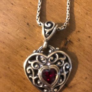 Brighten heart necklace